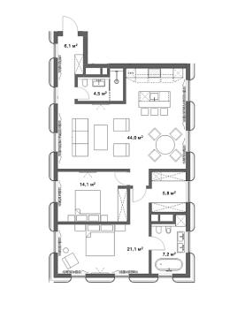 Клубный дом Цвет 32
